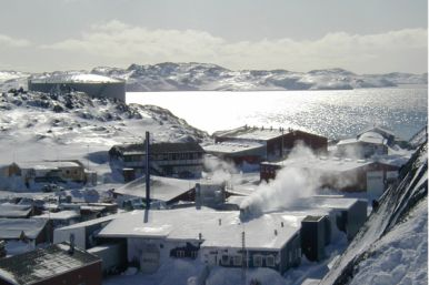 Factories in Greenland